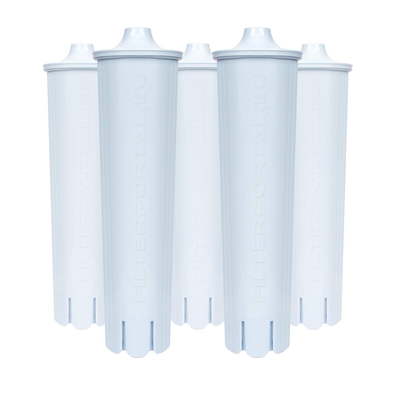 Set / Kit 5 x Cartucho de filtro compatible JURA CLARIS BLUE para ...