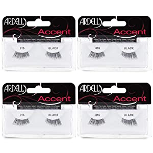 Ardell Accent Lashes 315, 4 Pack