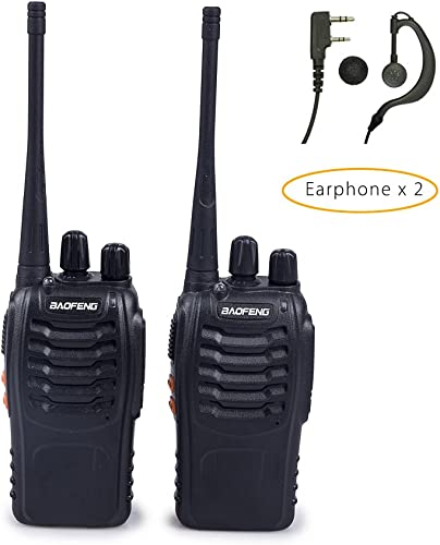 BAOFENG BF-888S Two-Way Radios Pack of 2