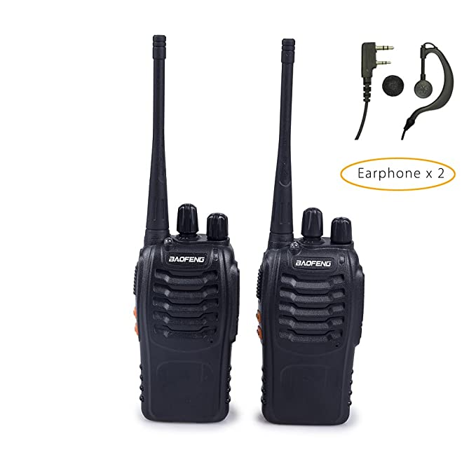 BAOFENG BF-888S Two-Way Radios (Pack of 2)