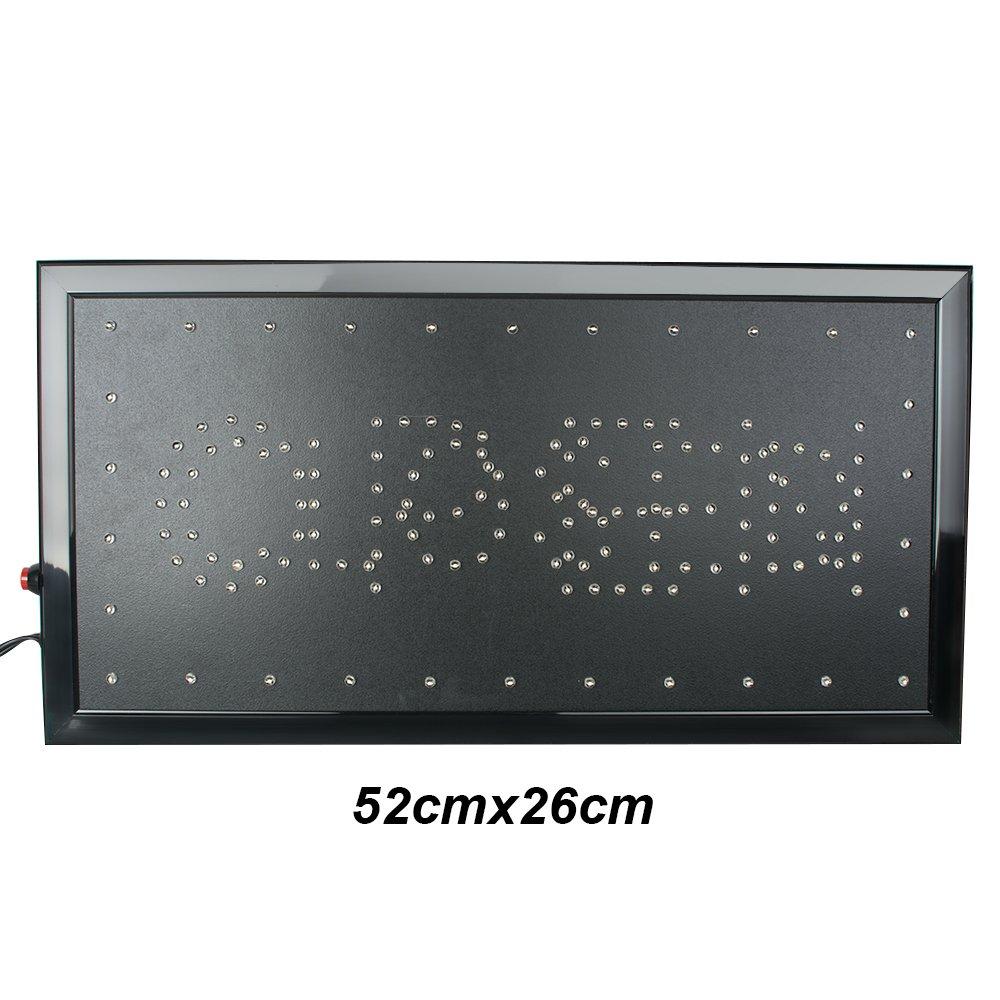 Rótulo LED de, risingmed 2 en 1 rótulo LED abierto y cerrado ...