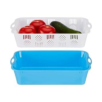genialo Kühlschrank Korb 3er Set Aufbewahrungsbehälter Box Organizer Lagerung