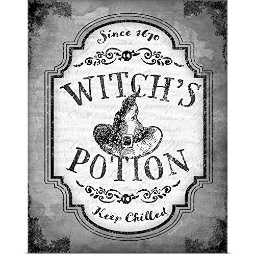 GREATBIGCANVAS Poster Print Entitled Witch's Potion by Jennifer Pugh 19
