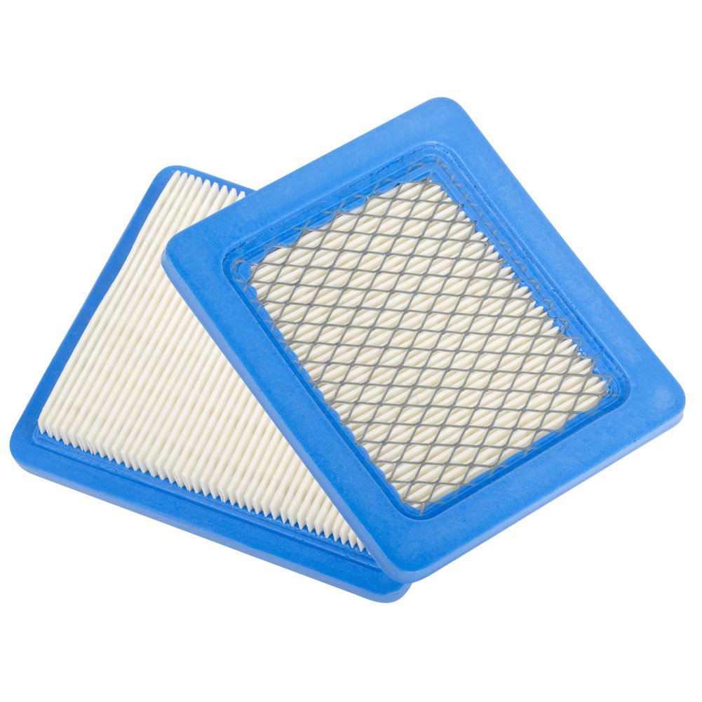 Beehive Filter Pack of 2 Flat Air Filter Cartridge Replacement for Briggs & Stratton 491588 491588S 4915885 399959 JOHN DEERE PT15853 Oregon 30-710 New