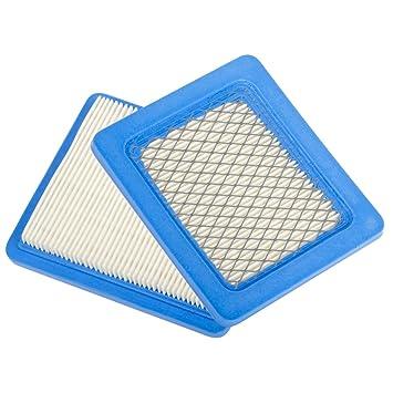 Paquete de 2 filtros de Beehive, recambio de cartucho del filtro de aire plano para
