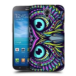 AIYAYA Samsung Case Designs Owl Aztec Animal Faces Protective Snap-on Hard Back Case Cover for Samsung Galaxy Mega 6.3 I9200 I9205
