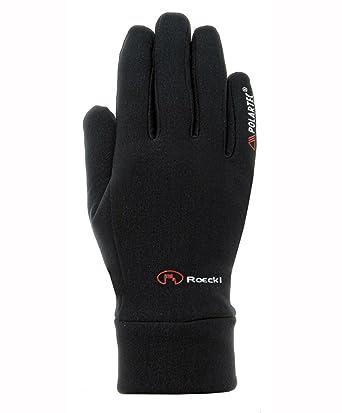 cd65bf55b5aaaf Roeckl Erwachsene Pino Handschuhe, Schwarz, 6