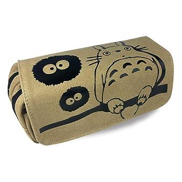 Totoro - Estuche multifunción con cremallera, diseño de ...