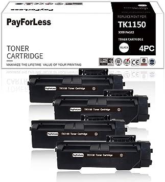 4 Payforless Toner Kompatibel Für Kyocera Tk 1150 Tk1150 Für Kyocera Ecosys P2235dn M2635dn M2135dn P2235dw M2635dw M2735dw Bürobedarf Schreibwaren