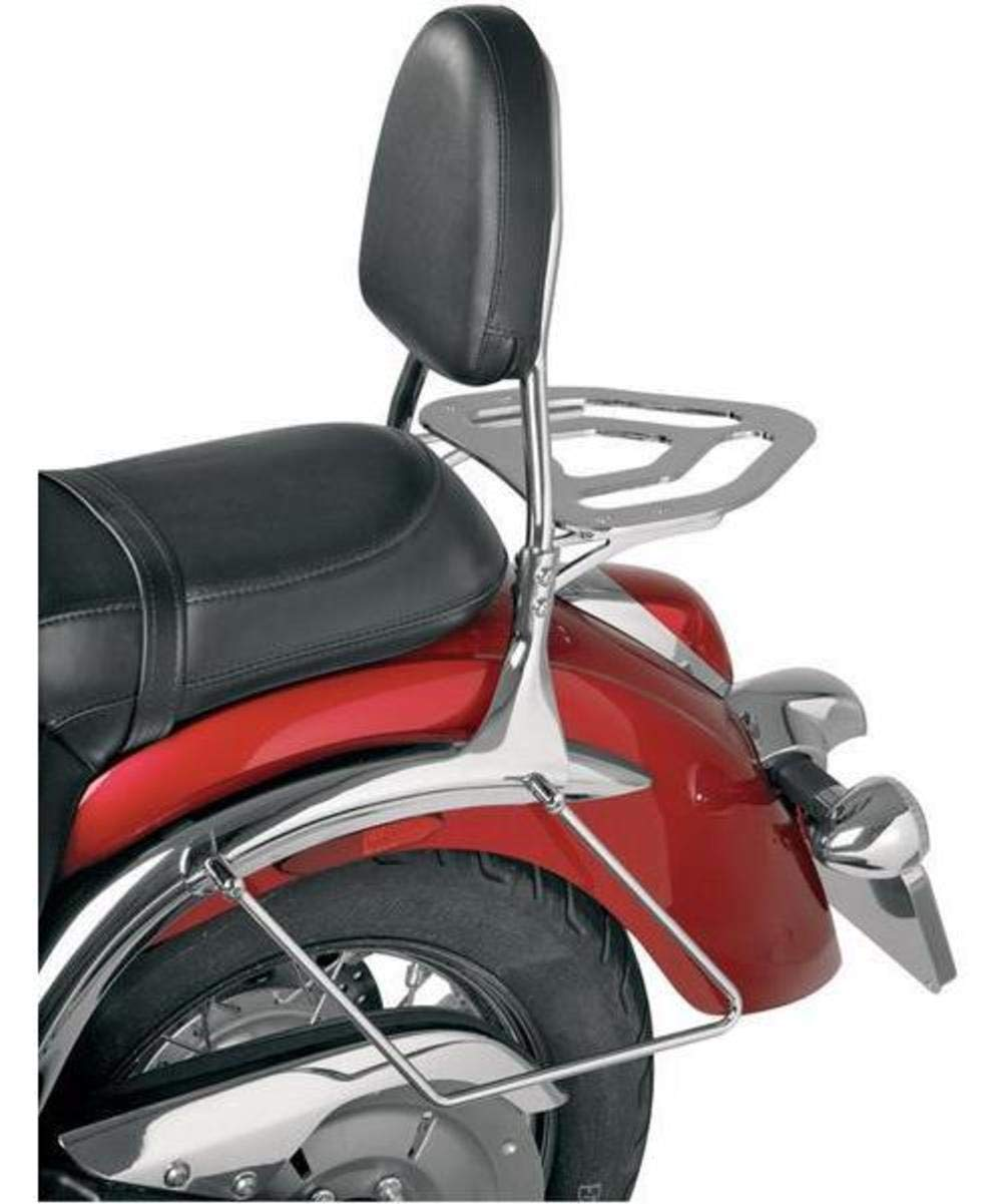 Show Chrome Accessories 63-612 Sissy Bar Backrest