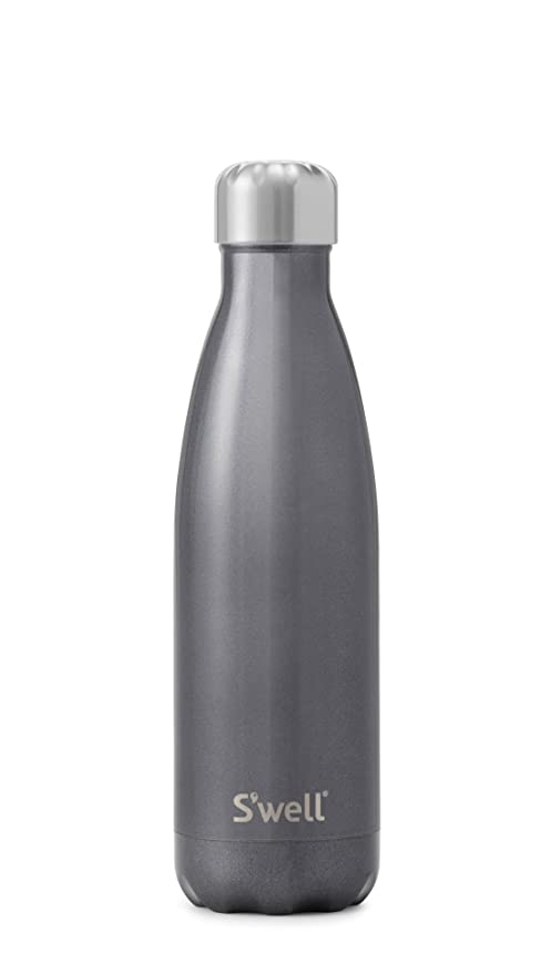 db362a28ca Amazon.com: S'well GLSE-17-B15 Audible Logo Stainless Steel Water Bottle, 17  oz, Smokey Eye: Kitchen & Dining