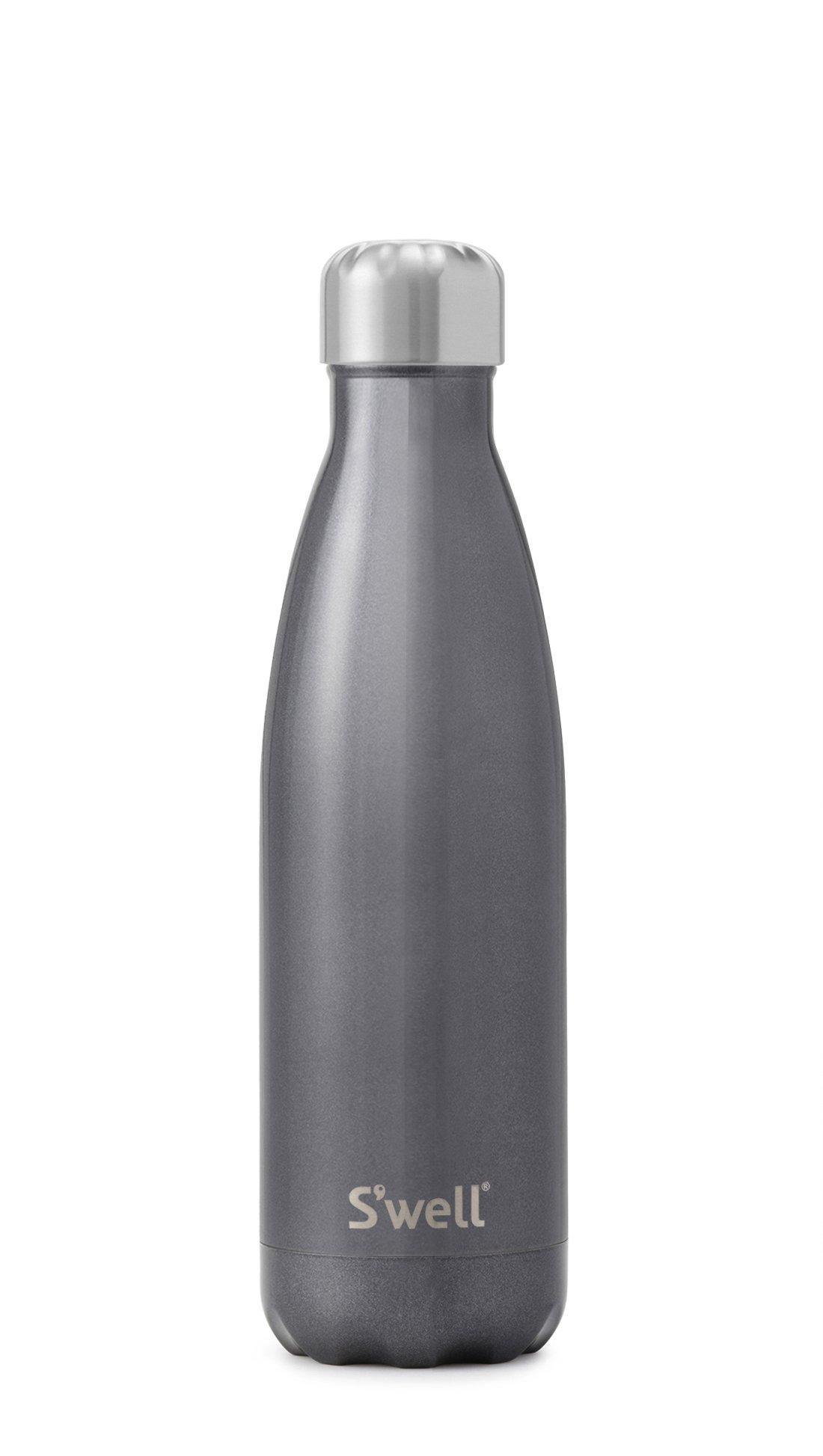 S'well Vacuum Insulated Stainless Steel Water Bottle, 17 oz, Smokey Eye