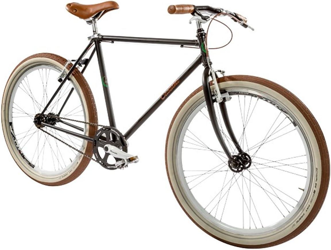 Casadei Bicicleta Fixie - Pista Singlespeed 26 8026, Verde Oliva ...