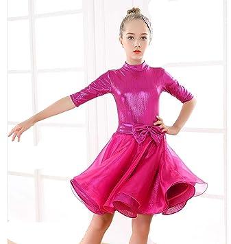 ZYLL Traje de Baile Latino Vestido de Baile Latino para ...