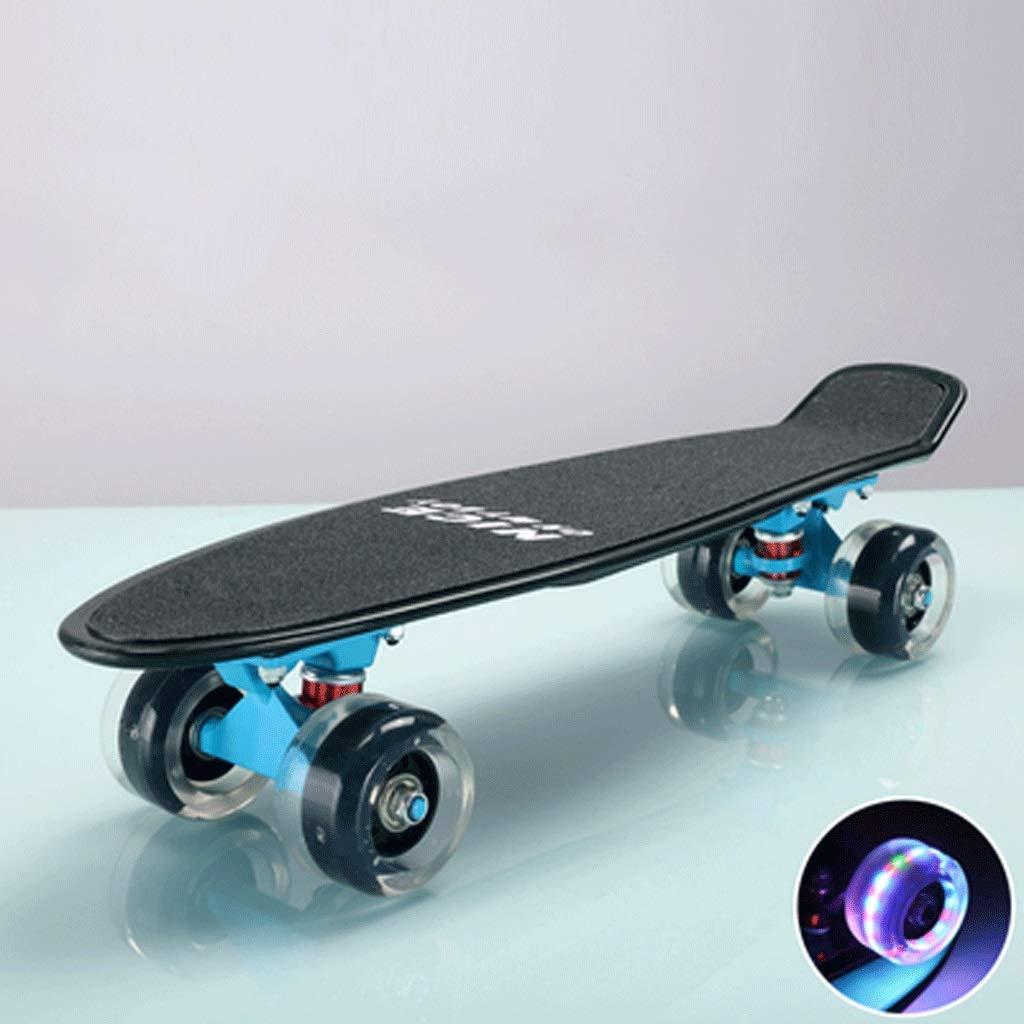 超可爱の 大人の子供とティーンエイジャースケートボード魚のプレート4ラウンド初心者のスケートボード (色 : (色 : Blue Blue Purple) B07KWY8F2B Blue Purple, ブルーミン/森田質店:c78a8634 --- a0267596.xsph.ru