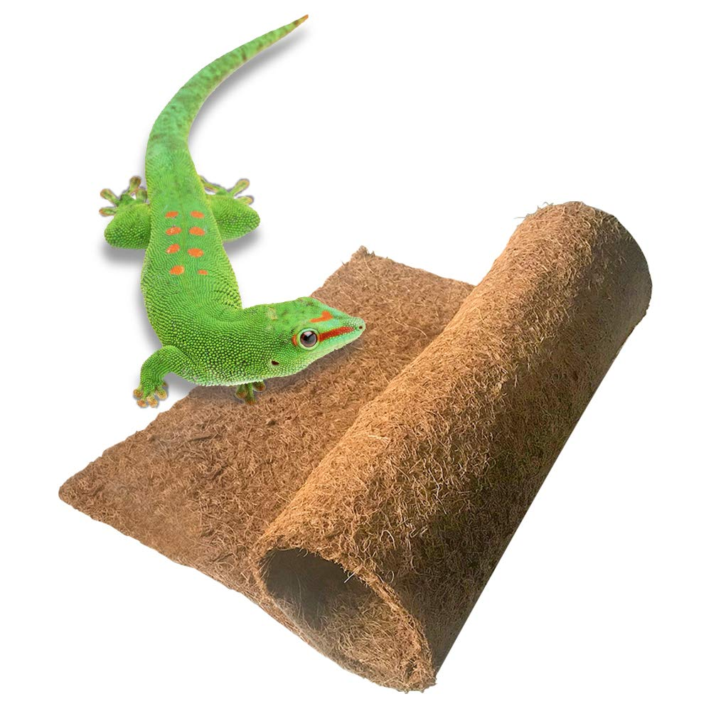 BLSMU Reptile Carpet,Coconut Fiber Substrate,Lizard Cage Mat,Coco Fiber Liner,Snake Bedding,Natual Coconut Fiber Carpet for Bearded Dragon,Turtles,Iguana,Tortoises