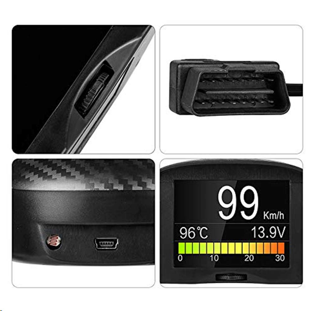 AUTOOL X50 Plus Multi-Function Head Up Display Car OBD X50 Plus