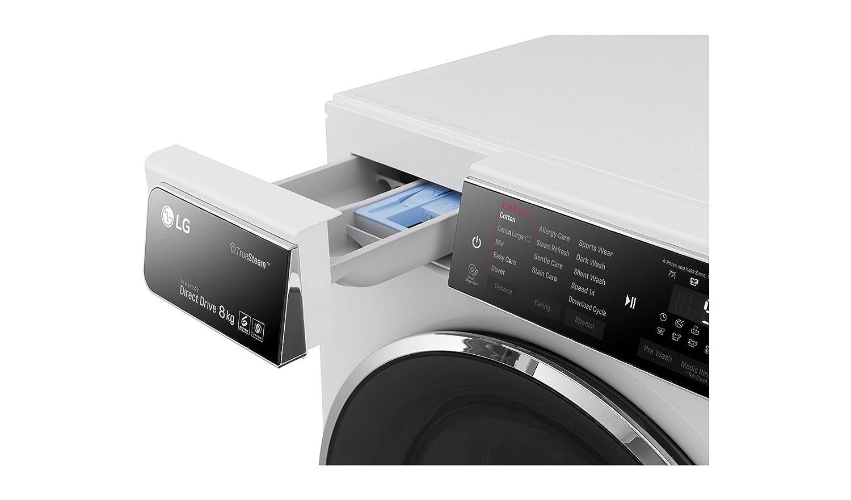 LG Electronics F 14u1 tbs2h lavadora FL/A + + +/117 kWh/año/1400 ...
