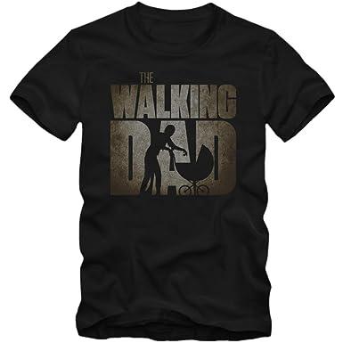 The Walking Dad T-Shirt Herren Vater Baby TV-Serien Zombie Herrenshirt:  Amazon.de: Bekleidung