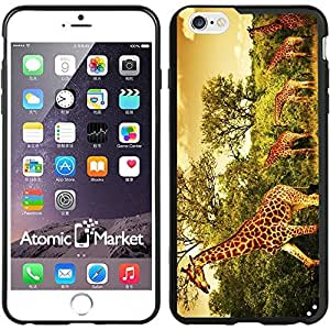 Popular Designed IP6+ Family Of Giraffes For Iphone 6 Plus 5.5 Inch Case Cover BY WOP-WOP