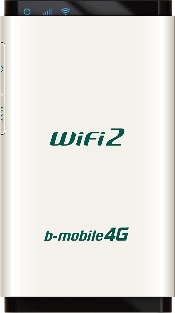 日本通信 LTE対応 b-mobile 4G WiFi2ルータ SIMフリー端末 BM-AMR510WH