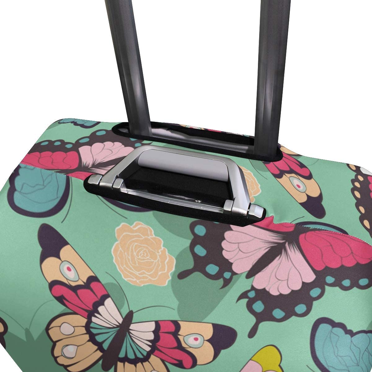 hengpai Simple Fishes Travel Luggage Protector Suitcase Cover S 18-20 in