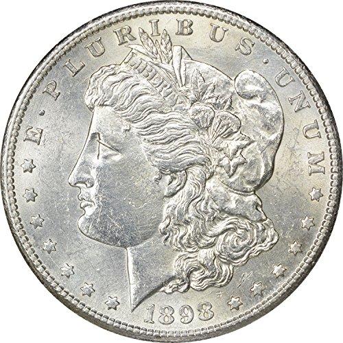 1898 S Morgan Dollar MS60