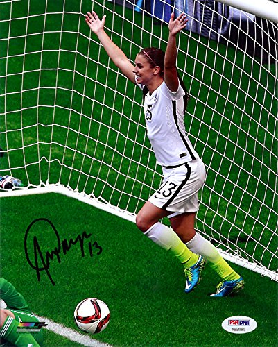 Alex Morgan Autographed 8x10 Photo Team USA PSA/DNA
