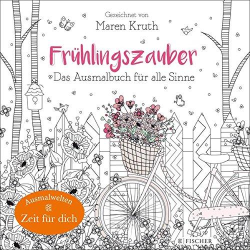 Frühlingszauber: Das Ausmalbuch für alle Sinne: Amazon.de: Maren ...