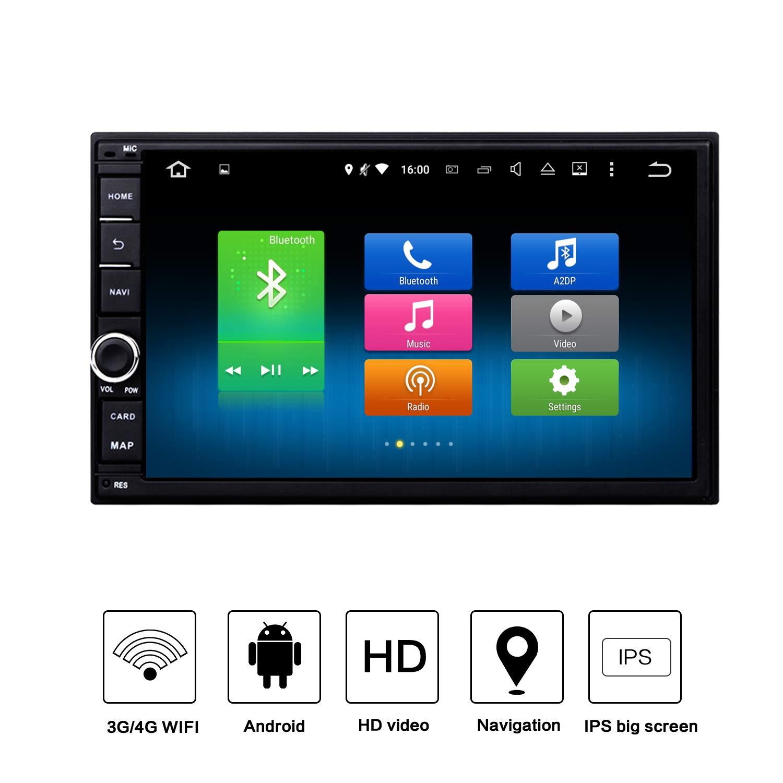 Dasaita Car Stereo Android 9.0 for Nissan Qashqai Universal Bluetooth Radio GPS Navigation Audio Car Vehicle Player Multimedia 7'' Touchscreen Head Unit Octa Core Music Video Player 4G+32G by dasaita