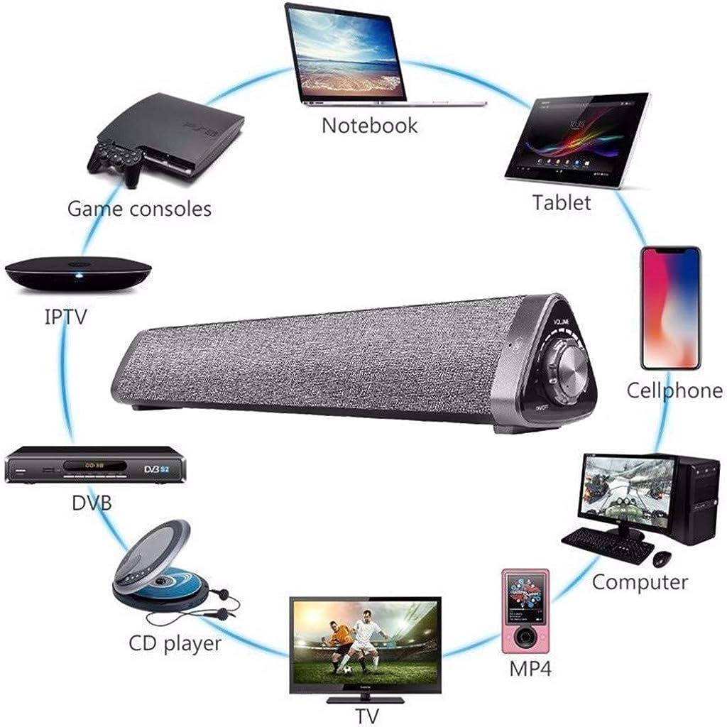 Dkings SoundBar TV - Altavoz doble inalámbrico Bluetooth para cine en casa (Bluetooth V5.0, sistema de sonido Solo-TV con mando a distancia universal, inalámbrico, Bluetooth): Amazon.es: Relojes