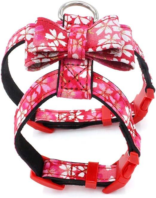 Lorjoyx Suministros de impresión Floral del arnés Ajustable Collar ...