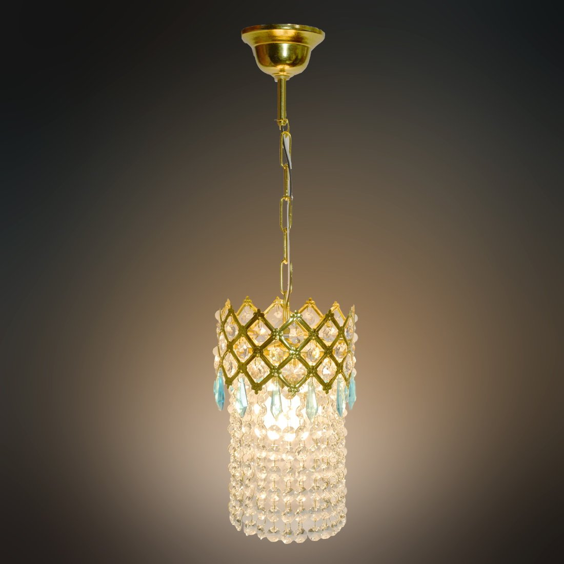 Buy Arus Pendent Crystal Ceiling Lamp Online at Low Prices in India ...