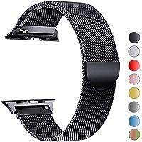 VIKATech Compatible Cinturino per Apple Watch Cinturino 44mm 42mm 40mm 38mm, Cinturino Orologio Bracciale in Acciaio Inossidabile Cinghia Banda Bracciale per iWatch Series 5/4/3/2/1