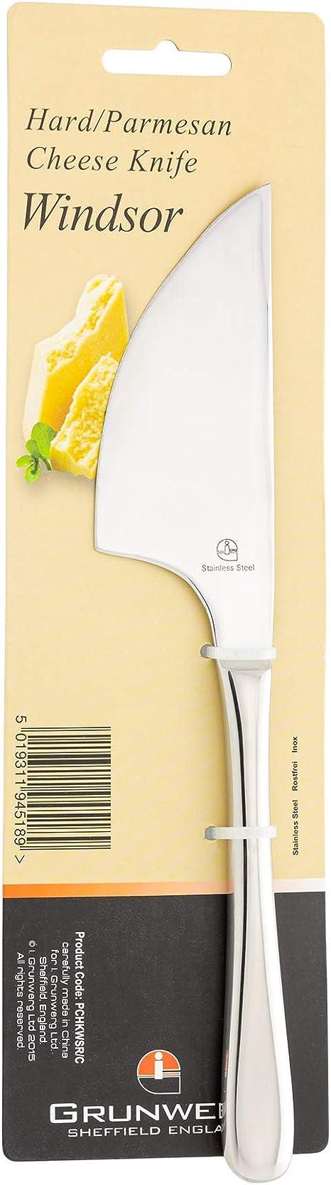 Grunwerg Windsor fromage couteau en acier inoxydable