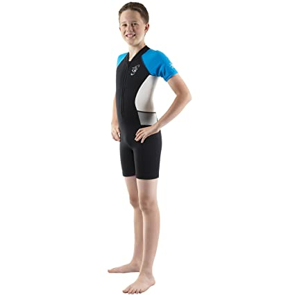 9aa0b326a1 Seavenger Shorty Wetsuit for Kids with 2mm Neoprene and UV Protection