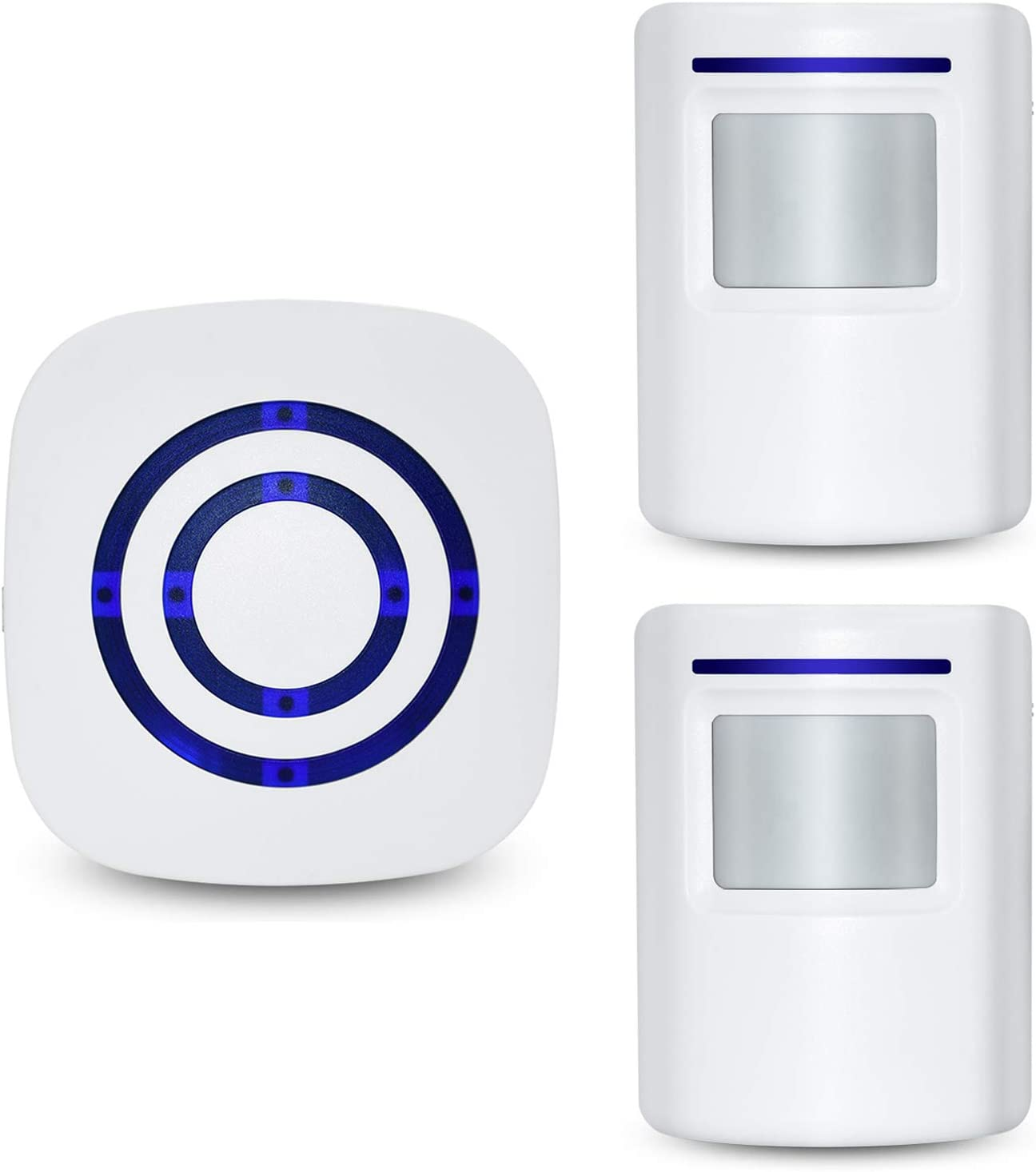 Tengcong Door Chime,Wireless Business Door Motion Sensor Detector Smart Visitor doorbell