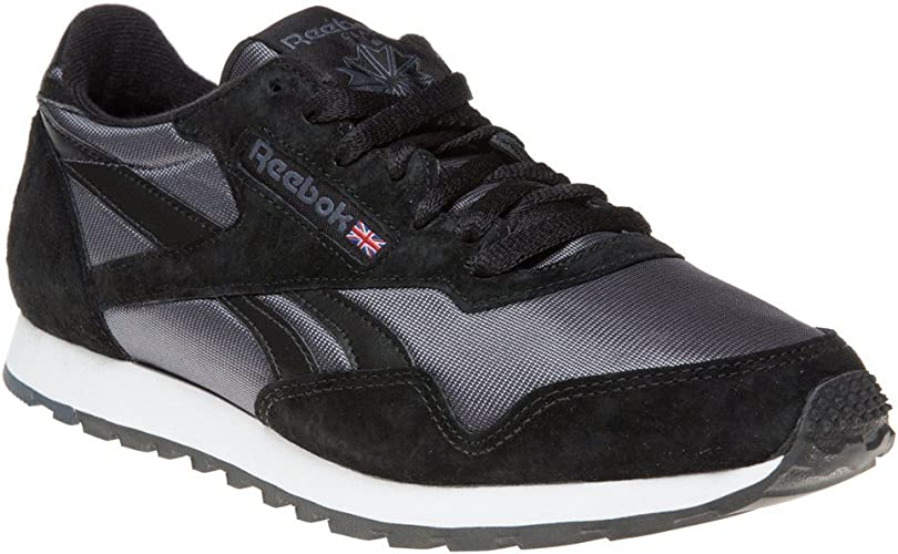 sportskor leta efter enormt lager Reebok Paris Runner Trainers Black 8 UK: Amazon.co.uk: Shoes & Bags