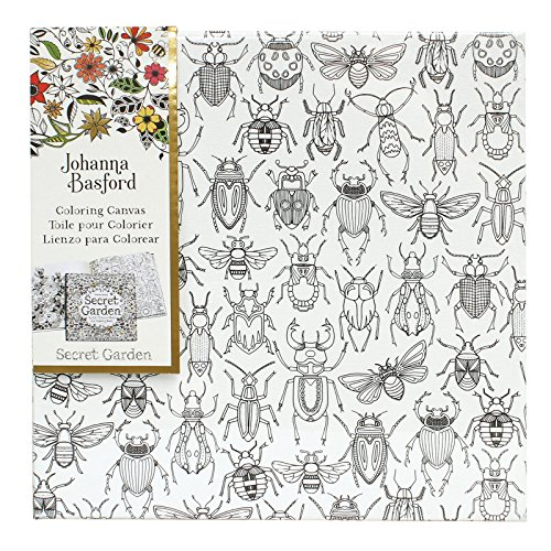Art Alternatives Johanna Basford Secret Garden Coloring Canvas - Bugs,