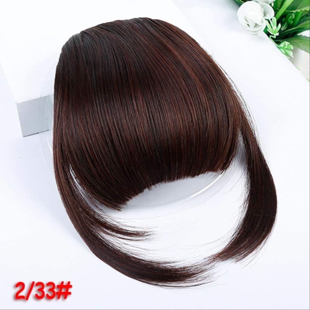 Yishouhengcheng Bangs Wig Short Straight Hair Style Front Liu Hai Tidy Tassel Clip Synthetic Hair Natural Wig High Temperature Fiber Amazon Co Uk Kitchen Home