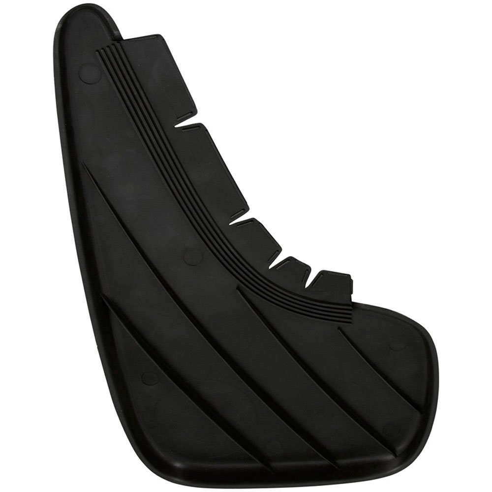 Carpoint sy49485 AutoStyle Mud Flap compresi viti, Set di 2, colore: nero