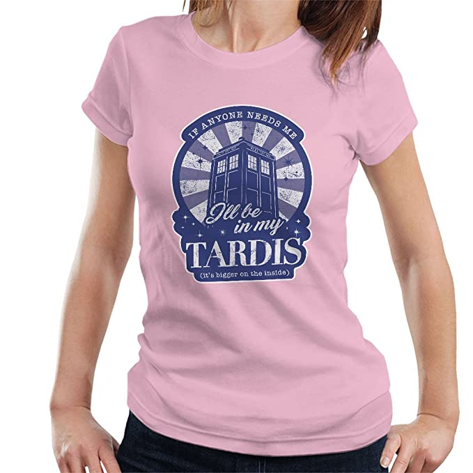Women's I'll Be In My TARDIS T-shirt - choice of colours