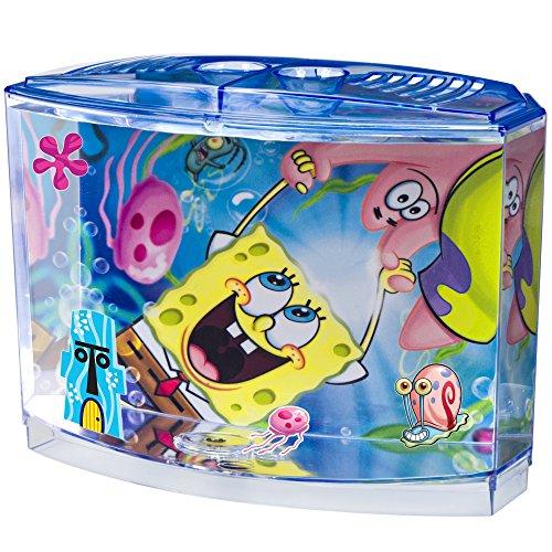 Penn Plax 0.5 Gallon SpongeBob Squarepants Betta Aquarium Kit