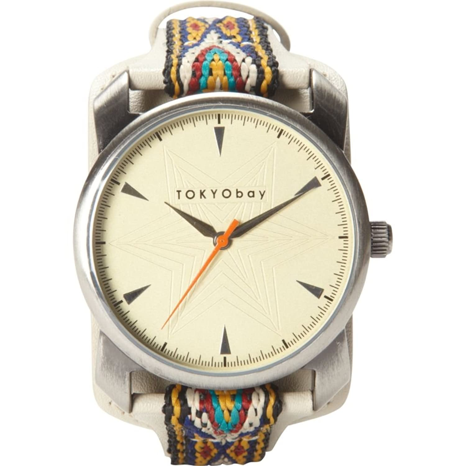 TOKYObay T020-BE Frauen Bunte Lederband Beige Dial ANATOLI Analog Watch