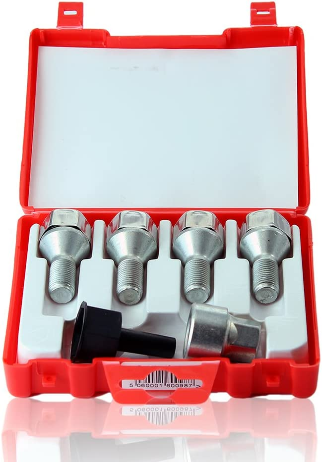 strumento adatto a VAUXHALL ZAFIRA 10 M12x1.5 20x GOLD D1 Lega Bloccaggio Dadi delle ruote