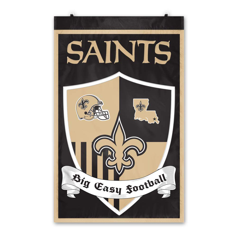 Party Animal New Orleans Saints Shield Banner by Party Animal