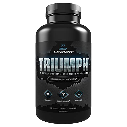 Legion Triumph Daily Multivitamin Supplement for Men & Women