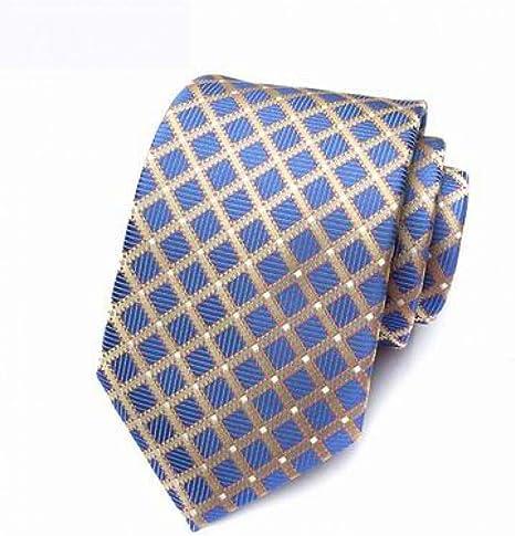 WOXHY Corbata Corbata de Seda para Hombre 100% Jacquard clásico ...