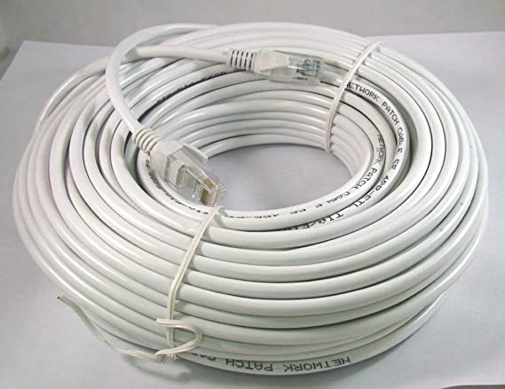 15M 50FT 50 Feet CAT5E Networking Network Cable RJ45 Ethernet Internet