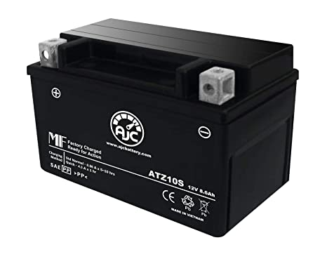 Amazon com: Duralast GTZ10S-BS FP Replacement Battery This is an AJC